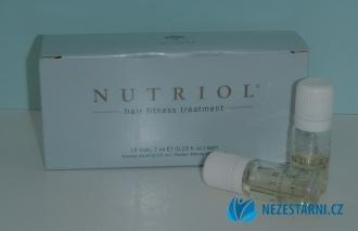 Nutriol Hair Fitness Treatment - zažehlovací intenzivní vlasová kůra - 12x7 ml