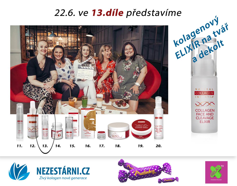 Živý kolagen - velká letní soutěž s NEZESTÁRNI.CZ a TV RELAX - 13.díl
