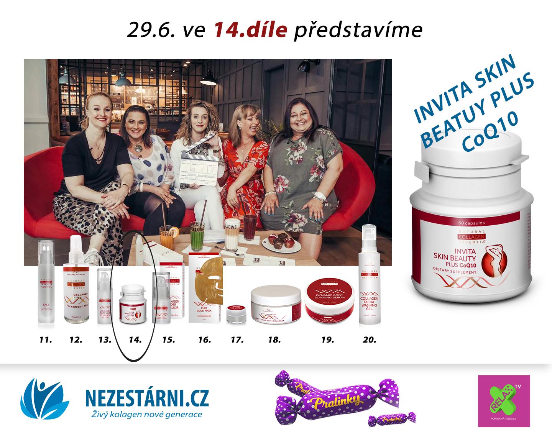 Živý kolagen - velká letní soutěž s NEZESTÁRNI.CZ a TV RELAX - 14.díl