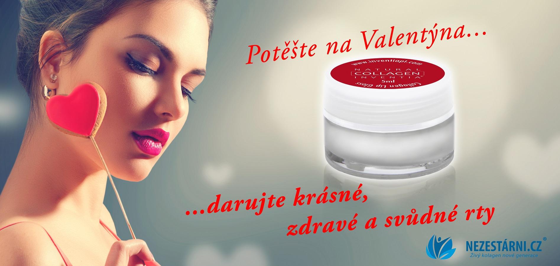 Živý kolagen - valentýnské tipy, nové dárky a soutěž s TV Nova