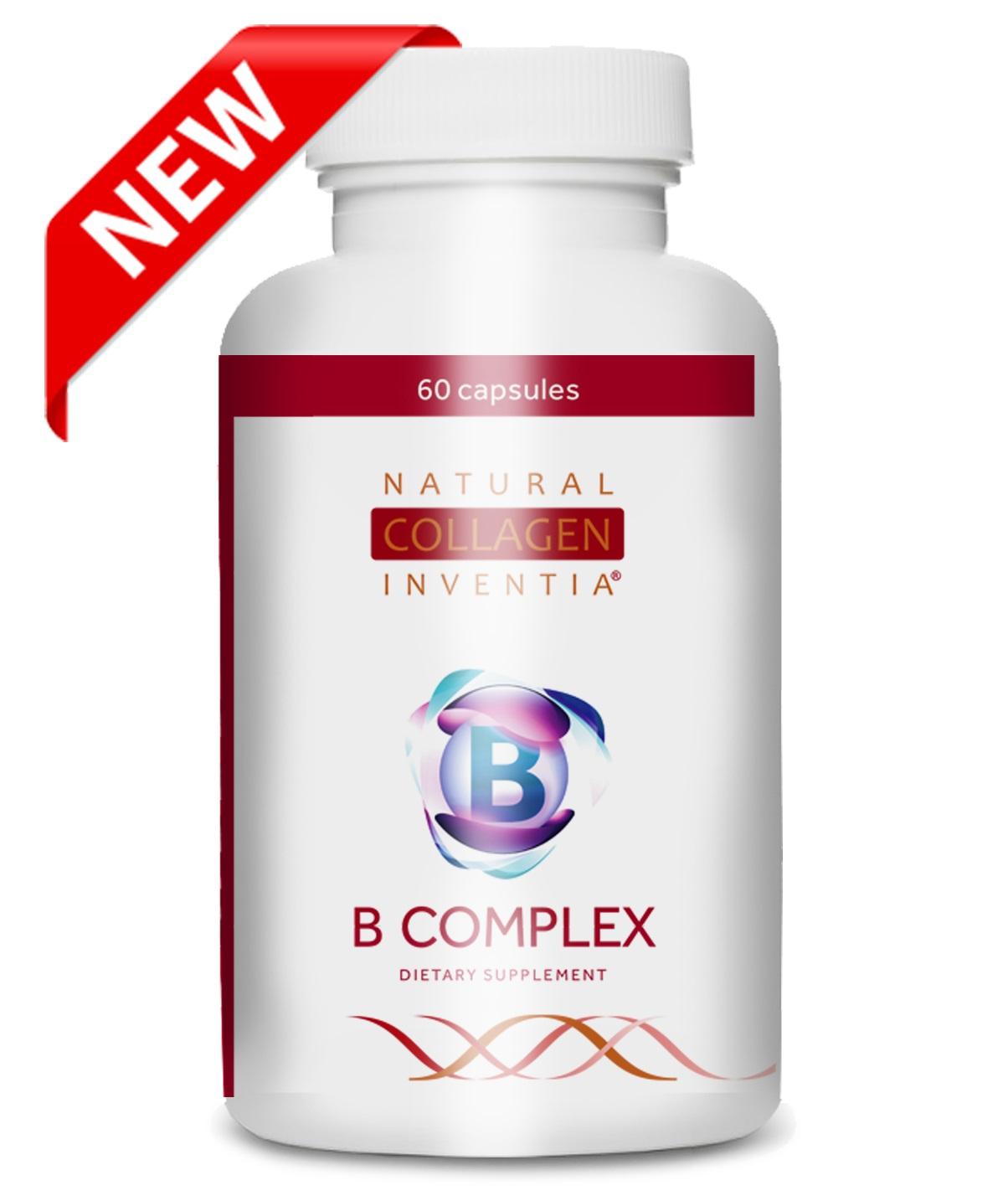Živý kolagen - ZDARMA vitamin C PLUS a POŠTOVNÉ + novinka vitaminový B Complex 11 druhů